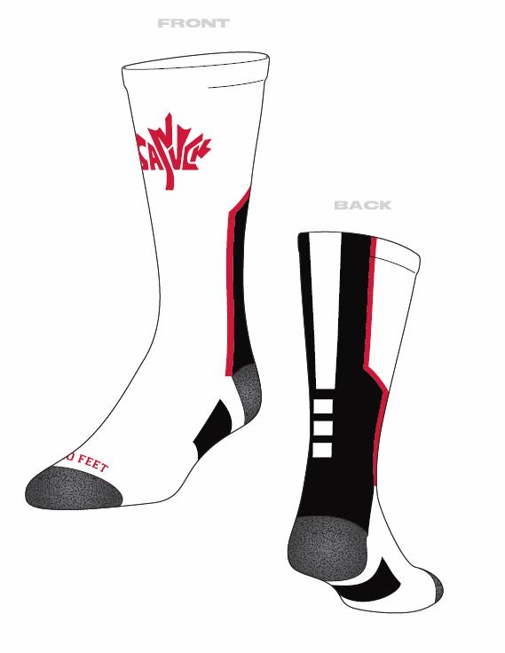 Canuck socks
